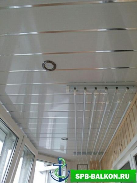 балкон «трапецеобразный» 5,5 м в осиновой роще rehau