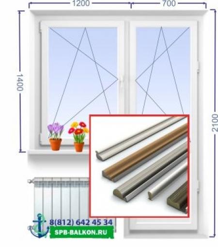 замена уплотнителя Балконного Блока