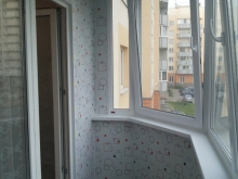 Остекление Балкона 5 м в Осиновой Роще Veka