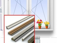 замена уплотнителя двухстворчатого окна