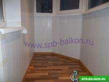 остекление балкона 4 м в осиновой роще deceuninck