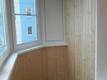остекление балкона 4 м в осиновой роще rehau