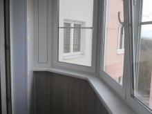остекление балкона 4 м в осиновой роще veka
